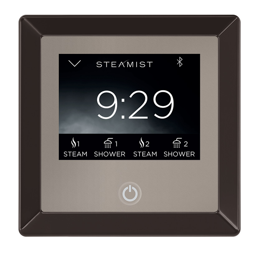 Steam Showers Showers Oil Rubbed Bronze Steamist TSC-250-ORB Total ...
